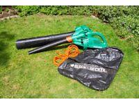 Black & Decker Master Vac 3 in 1 leaf vacuum / blower (GW250)