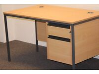 For sale: 6 x office desks + drawers (available for sale separately)