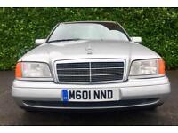 AUTOMATIC CLASSIC CAR 1994 MERCEDES BENZ C280 SPORT 2.8 195 BHP MINT CONDITION 110000 MILES MOT 4.18