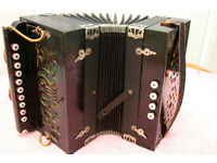 Manual Accordion for Sale (Wood)