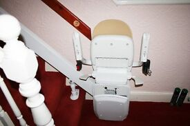 Disabled stairlift only 3 weeks old. As new condition