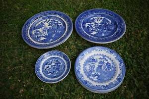 Vintage Wedgwood & Wedgwood-style blue & white crockery Dulwich Hill Marrickville Area Preview