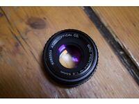 Pentax-M 1:2 50mm