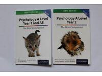 Psychology AQA A level books