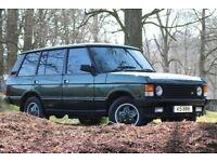 1993 Range Rover Vogue LSE 4.3. long MOT all original features intact. Hard dash