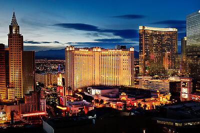 Monte Carlo Hotel Casino The Strip Las Vegas Nevada 8x10 Photo Picture (Monte Carlo Hotel Casino Las Vegas Nevada)