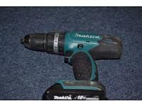 Makita 18v LXT Lithium-ion Cordless Hammer Combi Drill