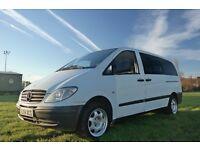 Special 2 berth campervan Mercedes Benz Vito 115 CDI LWB
