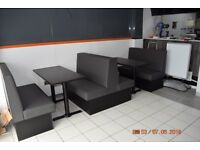 Booth Bench Restaurant Fixed Seating