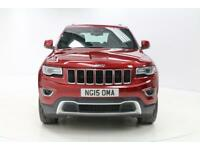 Jeep Grand Cherokee V6 CRD LIMITED PLUS (red) 2015-07-31