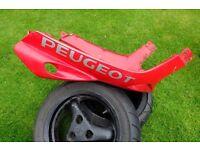 Peugeot Speedfight 2 lower fairing/floor pan