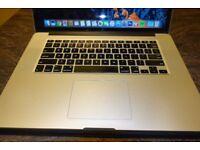 Macbook Pro 15.4. 16gb Ram. 2.7 Ghz i7 (3.7 Turbo). 256GB SSD. 1 GB Geforce.