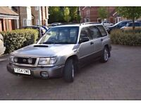 Subaru Forester S Turbo 1999, 85K, full history, all MOTs Good condition