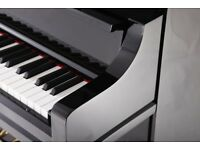 BRAND NEW STEINHOVEN SU 125 HIGH GLOSS BLACK UPRIGHT PIANO