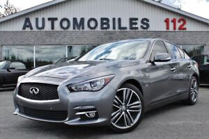 2015 Infiniti Q50 Limited / Tech / GPS / Camera 360 / Démarreur