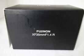 Fuji Fujifilm Fujinon XF 35mm f/1.4 R Lens - BOX Only