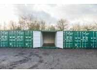 Self-storage Container & Vehicle Storage from £10.00 per week