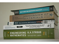 Mechanical Engineering Student Books £60