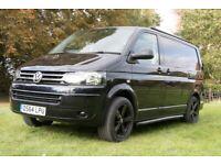 VW T5. Superb Looking Black Camper Van