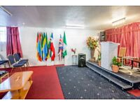CHURCH HALL AND PREMISES TO RENT - EDMONTON - NORTH LONDON
