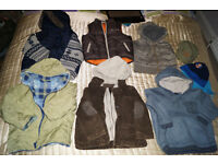 Bundle of boys clothes aged 3 to 4 (44 items)