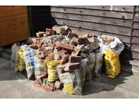 brick rubble free for collection waltham grimsby