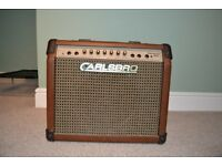 Carlsbro Sherwood Baby Acoustic Guitar Combo Amplifier 30W with Reverb