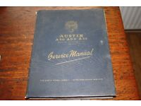 Austin A30 and A35 service manual 1954