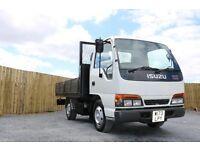 2000 Izuzu NKR 55, drop side lorry, 3.5 ton, 12 months PSV, led light bar, low miles, 2 owner