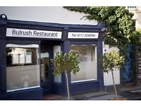 Bulrush is looking for P/T FOH
