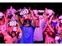 PREMIER LEAGUE DARTS TICKETS SHEFFIELD X 3 TABLE SEATS TICKETS IN HAND READY TO POST ***