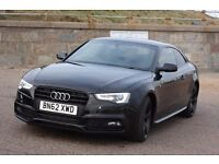 Audi A5 Coupe 2.0 TDI S Line Black Edition - £17600 or P/X to LHD