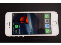 iPhone 5s 16gb Vodafone in white apple