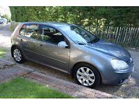 VW GOLF GT TDI 2.0l 140bhp 6 speed. 2005 Full Spec.