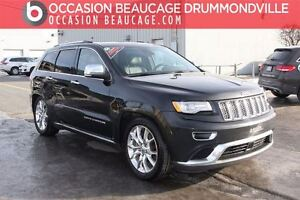 2014 Jeep Grand Cherokee SUMMIT 4X4 - GPS / NAV + CUIR + TOIT -