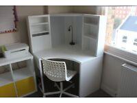 Ikea Office Set (Desk + Chair)