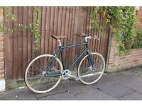 GOKU CYCLES Special Offer! Steel Frame Single speed road TRACK bike fixed gear racing bike e3aq