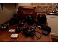 Canon 600d bundle with 3 lenses, accessories and bags