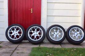 Alloy Wheels Borbet BS deep dish 16x7.5 4x114.3 ET35