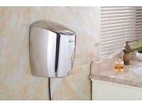 Excel AIR - Low Energy High Power Shiny Chrome Hand Dryer
