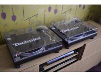 Technics SL-1210 MK2 Turntables Pair - STUNNING! In Original Boxes