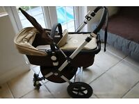 A LOVLEY BUGABOO CAMELON 2 AS NEW WASHED AND CLEAN PROPERLY + EXTRA ACCESSORY