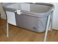 Chicco Lullago Crib + 3 Fitted Sheets (£75)