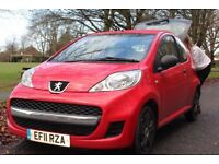 Peugeot 107 3dr, Fast sale needed £3000 ono.