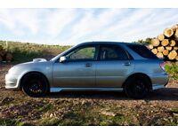 Limited Edition Subaru Impreza GB270 Sports Wagon 2.5