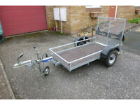 CAR TRAILER FOR MOBILITY SCOOTER