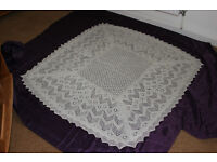 2ply traditional lace shawl 75/25% cashmereNEW