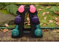 Womans YORK Exercise Weight Set