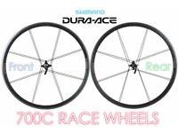DURA ACE CYCLE WHEELS RACE DURACE TRI FAST SPEED LIGHT WEIGHT CLINCHER HUB SHIMANO TREK LOOK £1000
