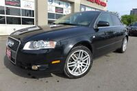 2007 Audi A4 2.0T QUATTRO. LEATHER. ROOF. CLEAN